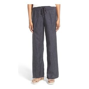 📍Eileen Fisher Organic Linen Drawstring Pants 3X